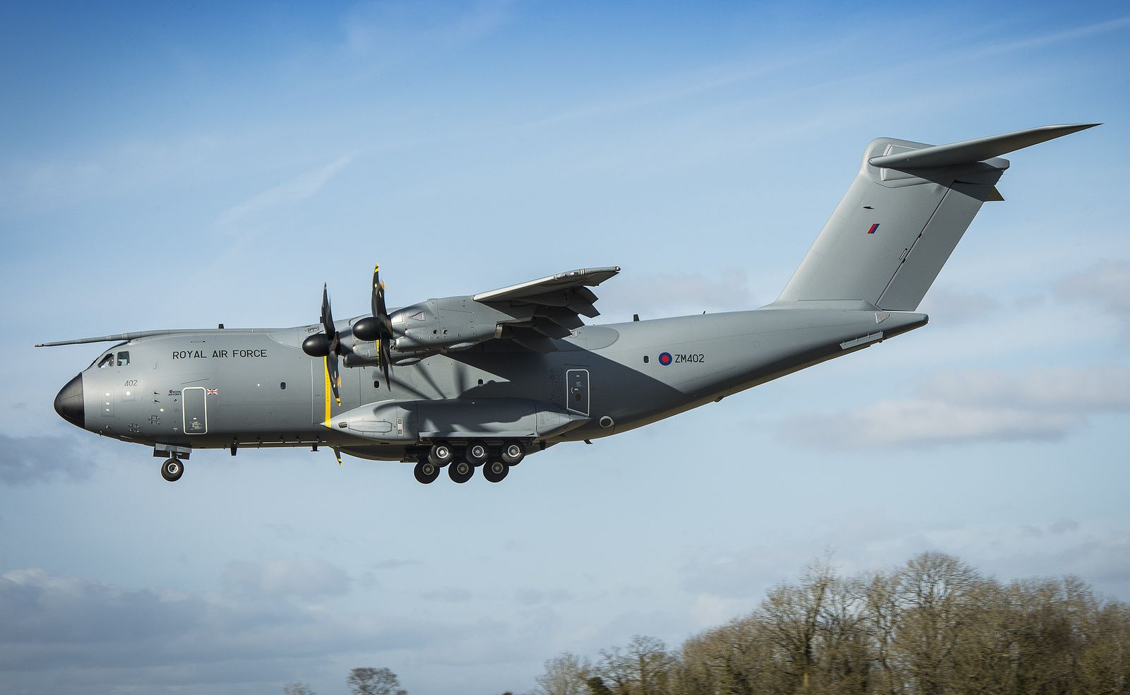 "La Royal Air Force se dote de son second A400M ""Atlas"""