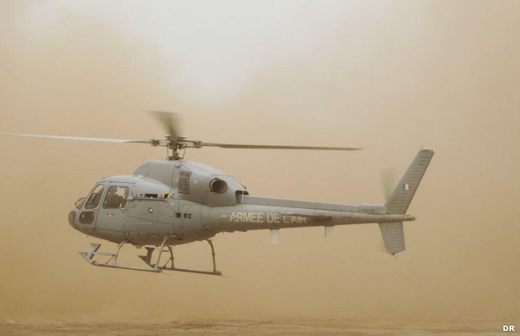 Les hélicoptères Fennec de l'Armée de l'Air ont effectué 500 missions en Centrafrique