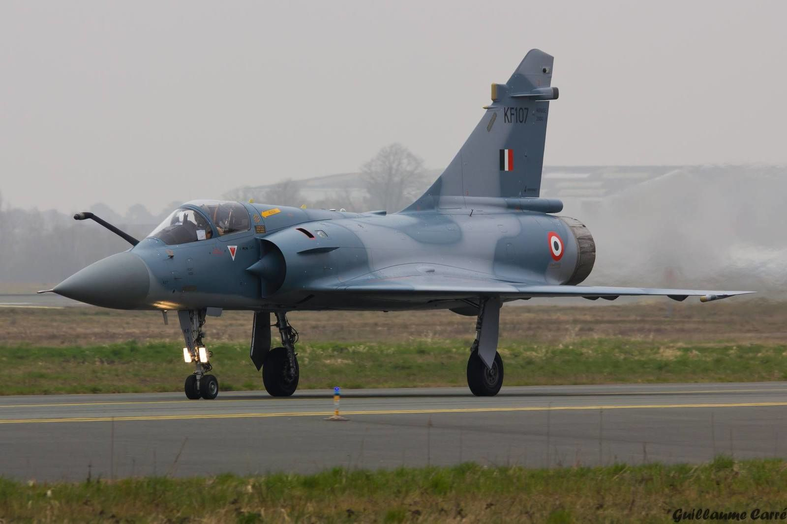 PHOTOS : Un Mirage 2000H indien modernisé à Bordeaux-Mérignac