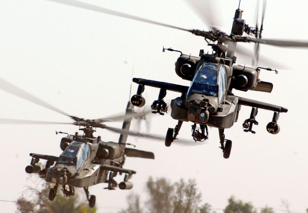 L'Arabie Saoudite a engagé ses hélicoptères AH-64 Apache au-dessus du Yémen