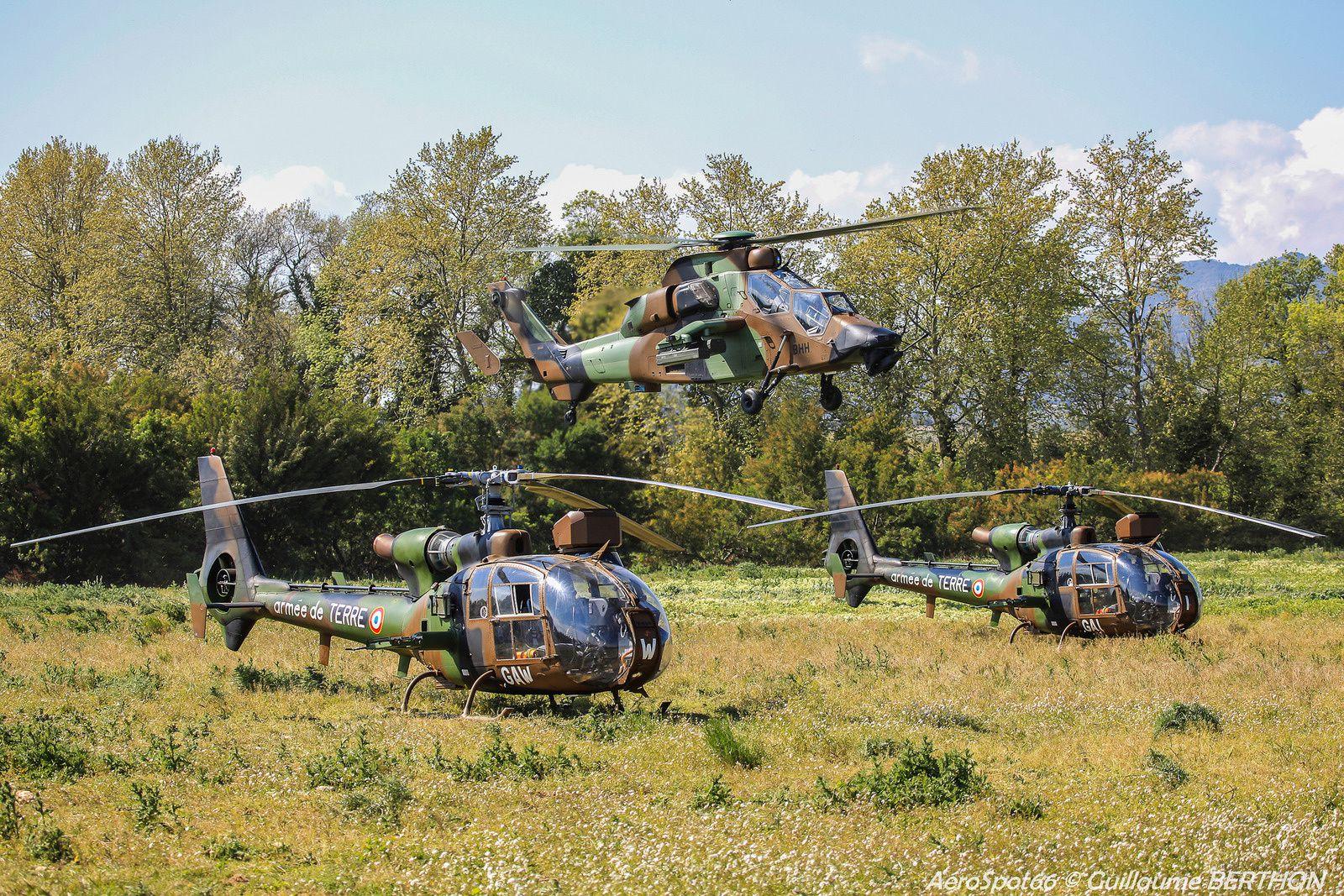 PHOTOS : Au coeur de l'exercice Vermeille 2015 avec le 5ème Régiment d'Hélicoptères de Combat