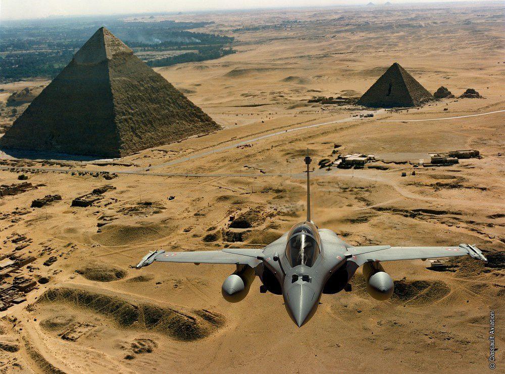 Les futurs pilotes de chasse égyptiens sur Rafale sont actuellement en formation à Mont-de-Marsan