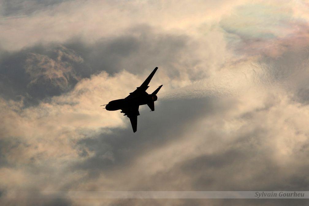 Si le Mig-29 polonais est un incontournable des meetings aériens à l'étranger, les Su-22 savent aussi se faire remarquer et marquer les spectateurs.