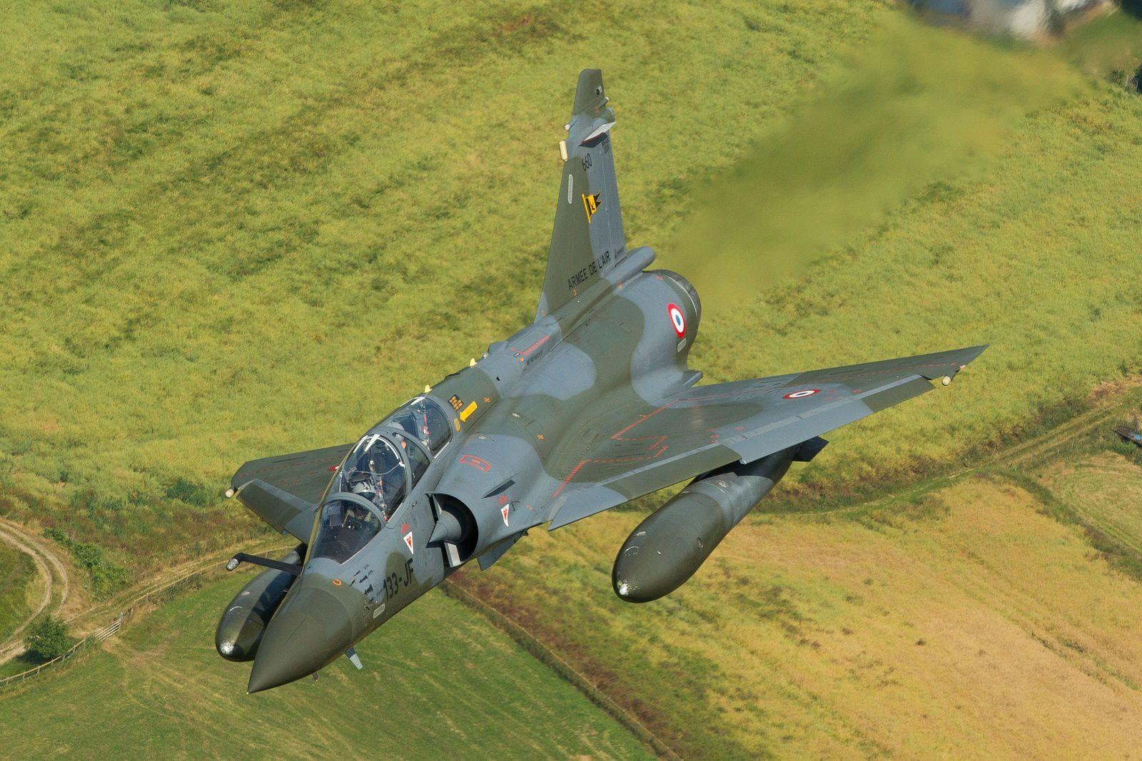 Le Ministère de la Défense officialise la modernisation des Mirage 2000D
