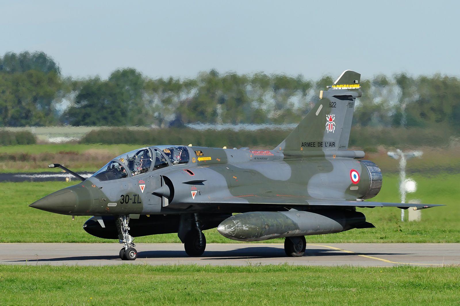Trois Mirage 2000D du CEAM déployés au Pays-Bas pour l'exercice Embow