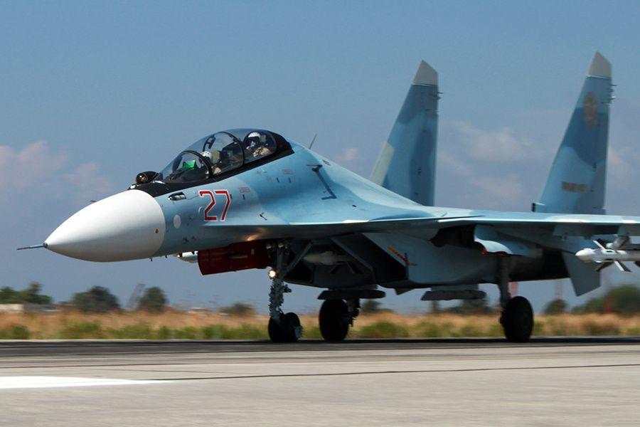 PHOTOS - Le détachement aérien russe déployé en Syrie