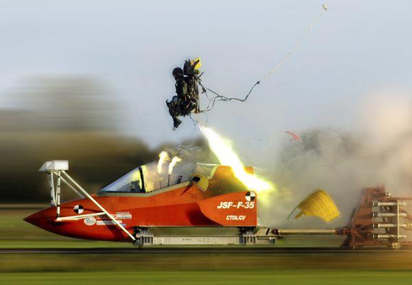Le siège éjectable du F-35 présente un risque mortel pour certains pilotes
