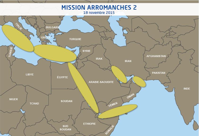 Arromanches 2 : Le porte-avions Charles de Gaulle a appareillé de Toulon et navigue vers la Syrie