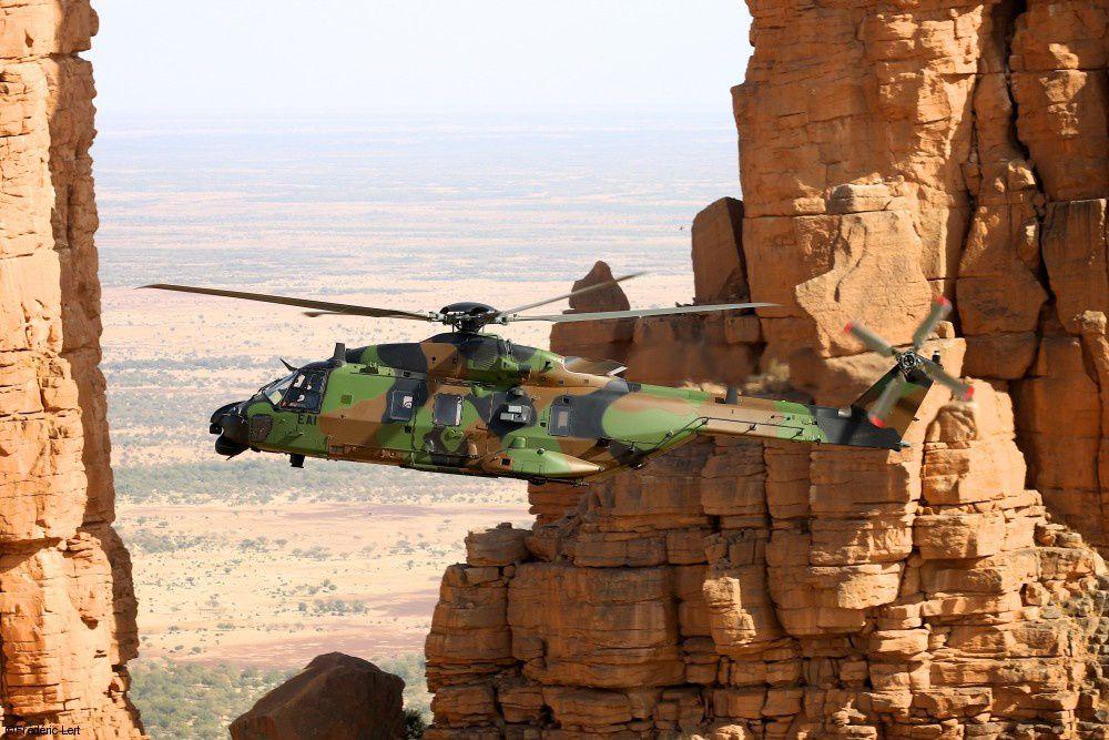 La Direction Générale de l'Armement commande six hélicoptères NH-90TTH Caïman