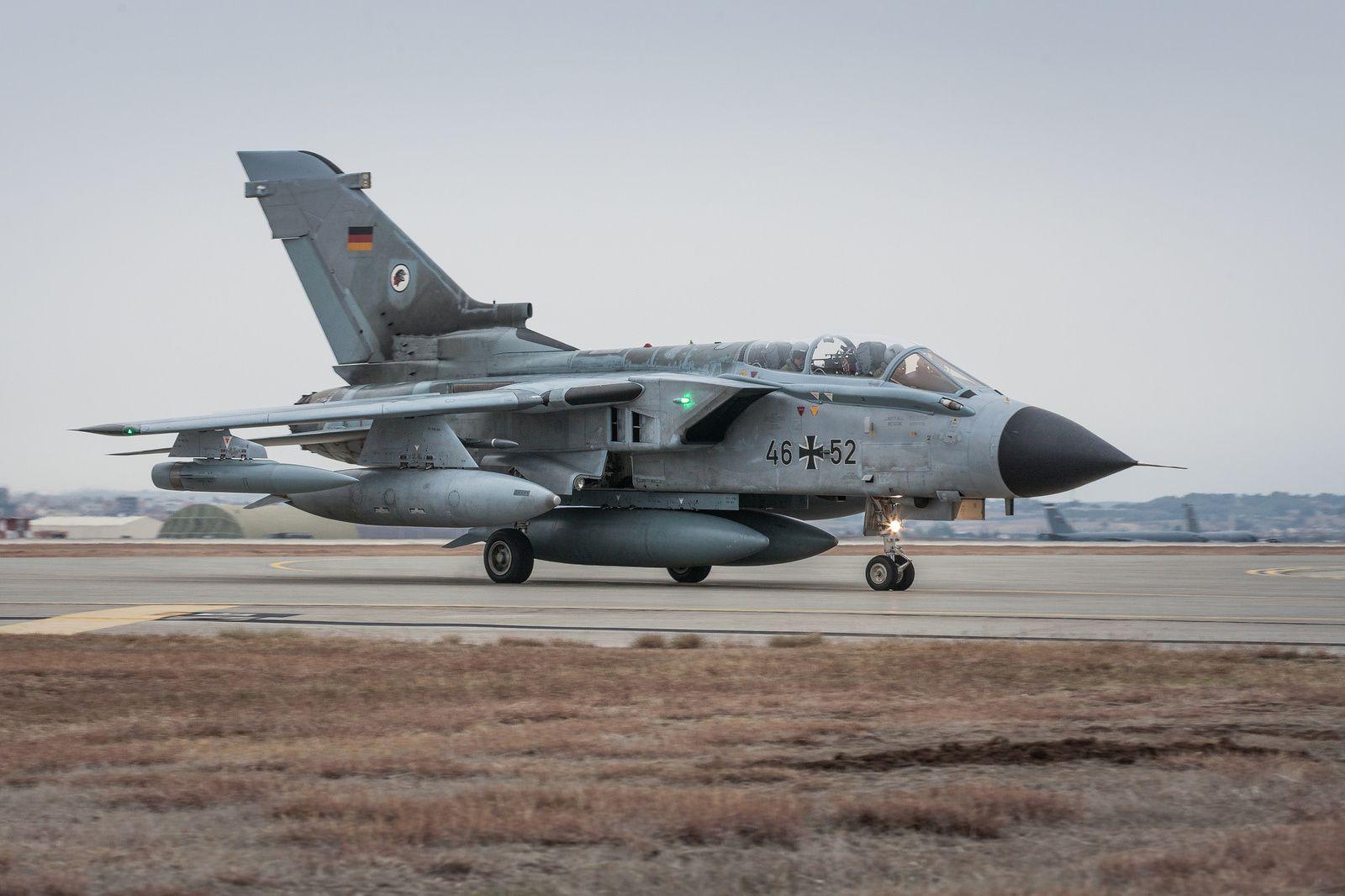 Les premiers Tornado ECR allemands arrivent en Turquie