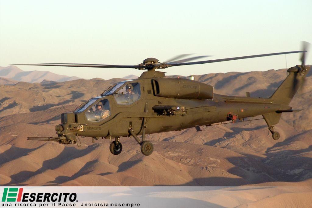 L'Italie va déployer des hélicoptères NH-90 et A.129 Mangusta en Irak