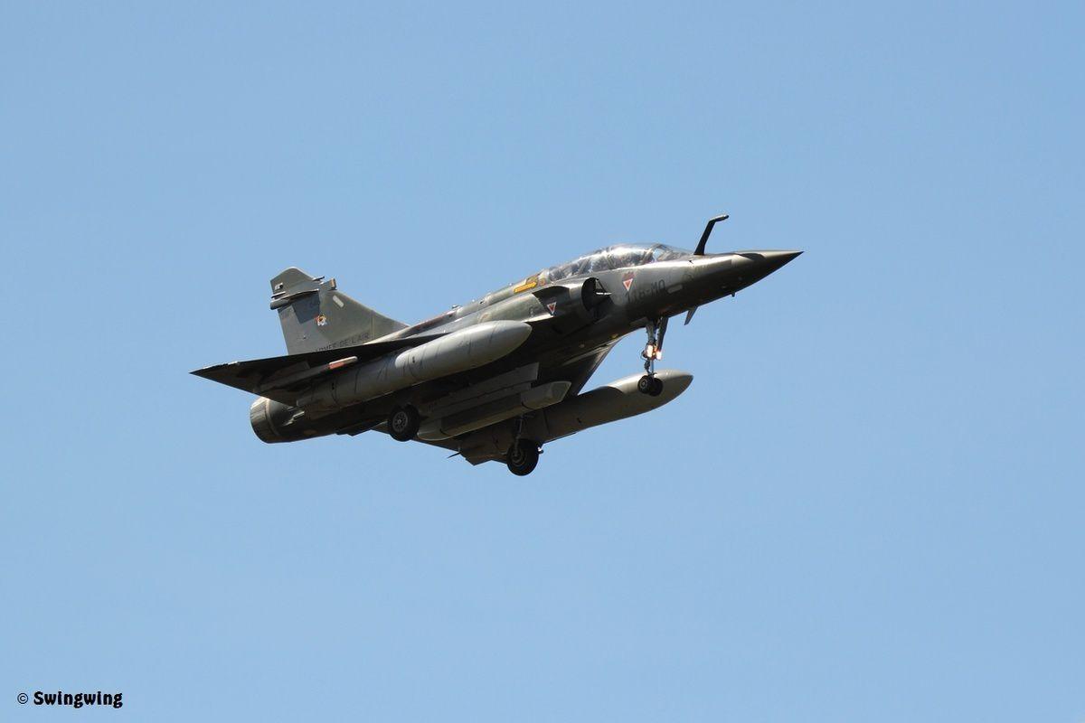 La nacelle ASTAC est opérationnelle sur Mirage 2000D