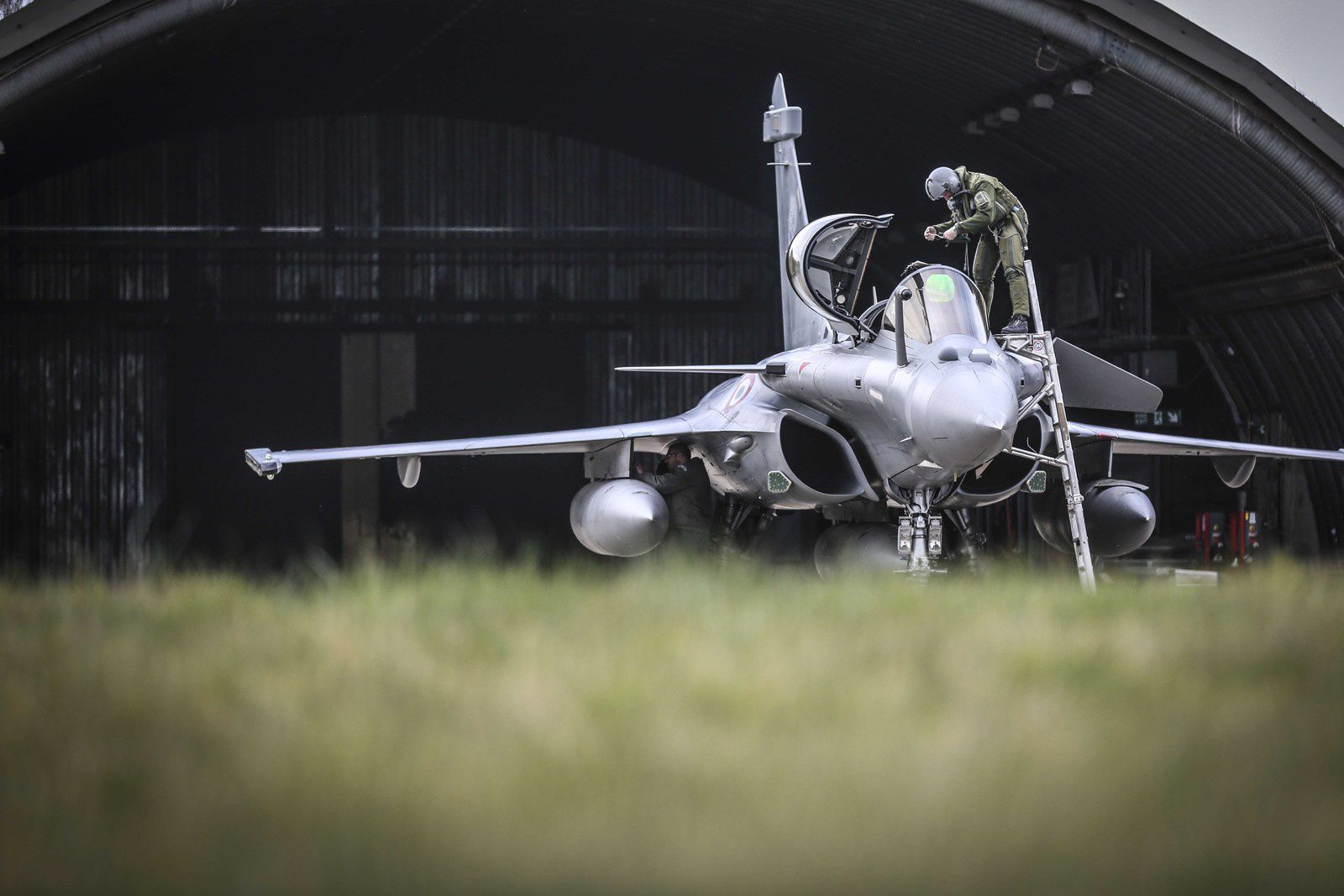 PHOTOS - L'Armée de l'Air et la Royal Air Force engagées dans l'exercice Griffin Strike