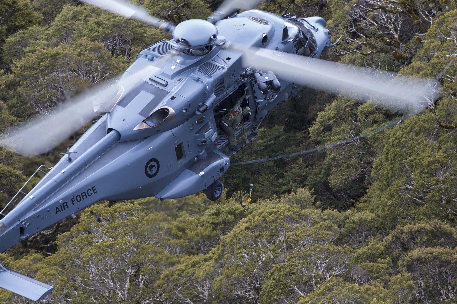 Les NH-90 de la Nouvelle-Zélande ont effectué leur toute première mission d'aide humanitaire