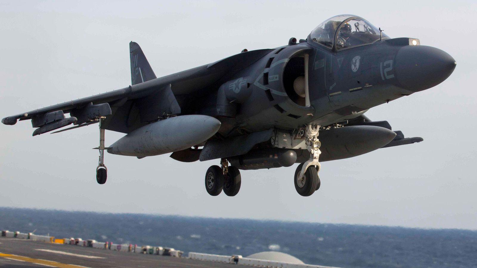 Un AV-8B Harrier II de l'US Marine Corps s'abîme dans l'océan Atlantique