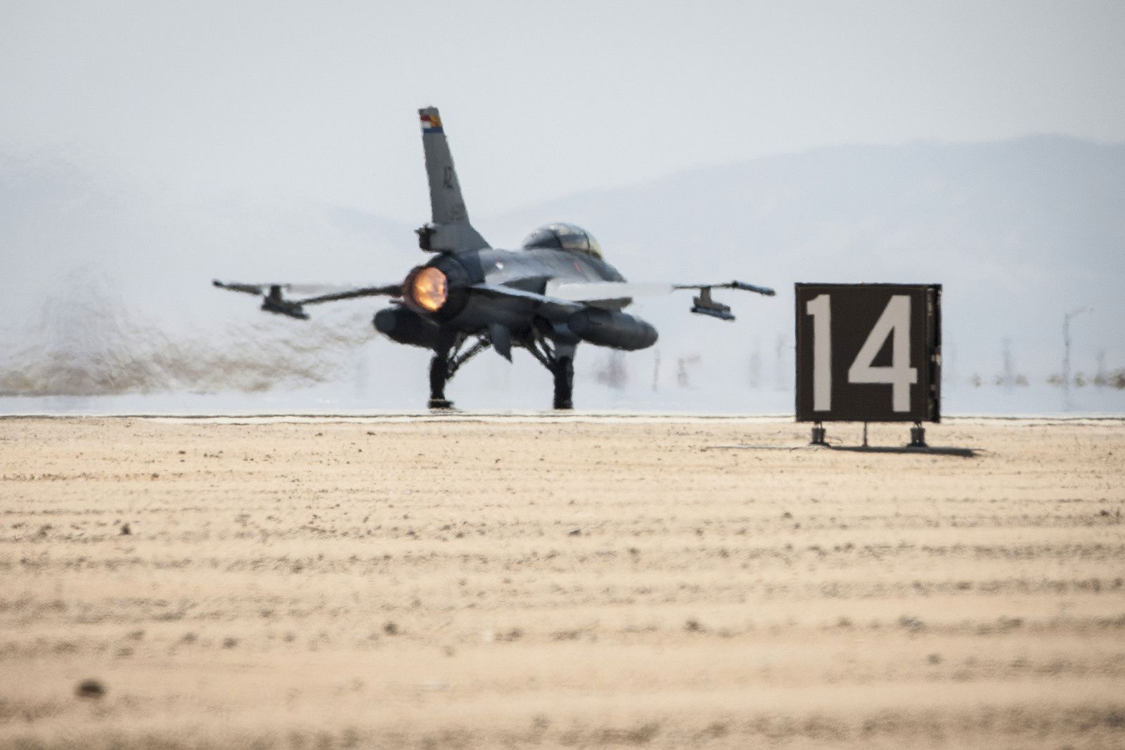 © KLu - Décollage d'un F-16M néerlandais dans le cadre de la coalition internationale Inherent Resolve.