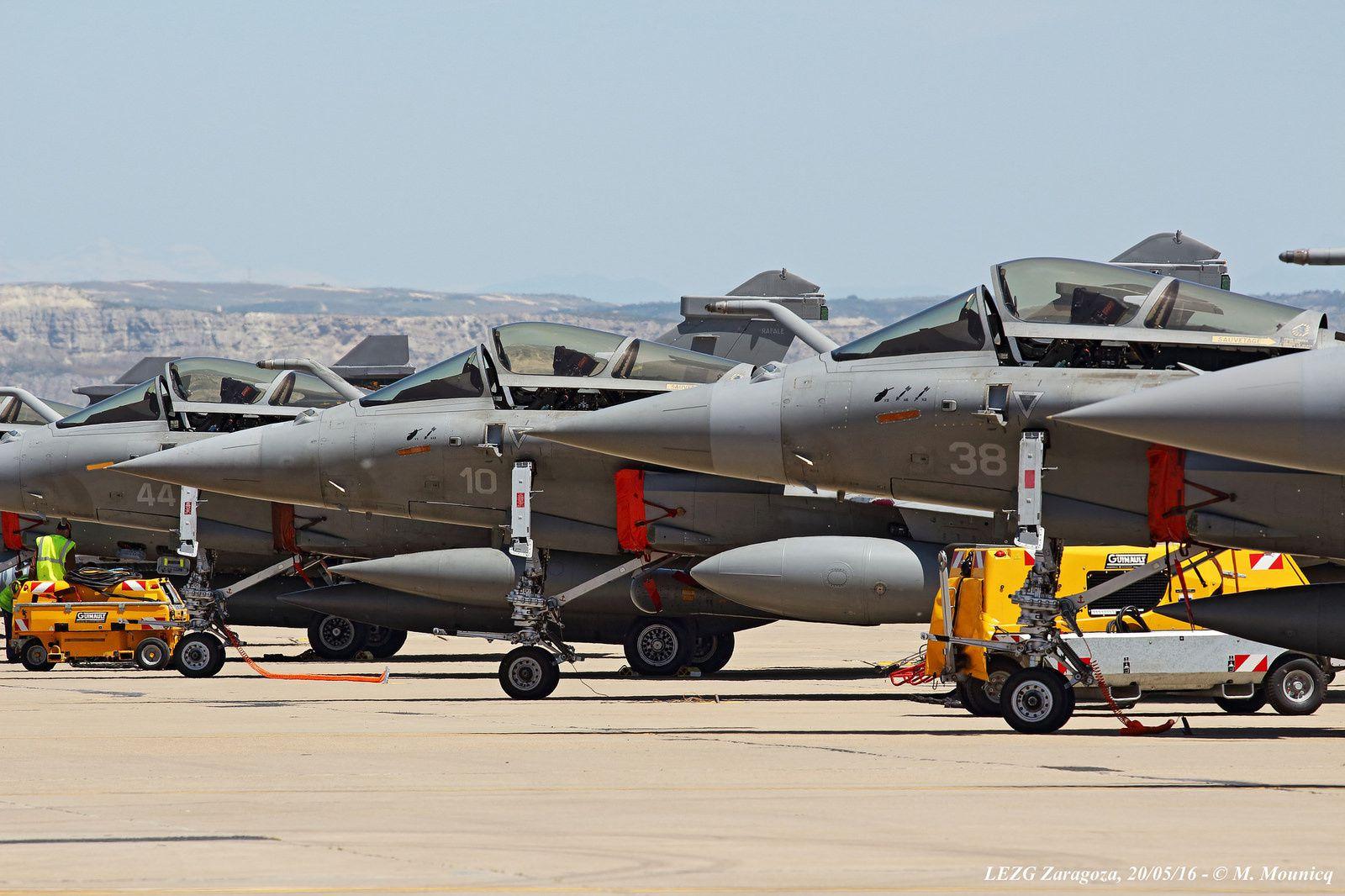 La «flight line» française. Si ça ce n'est pas du Combat Proven !