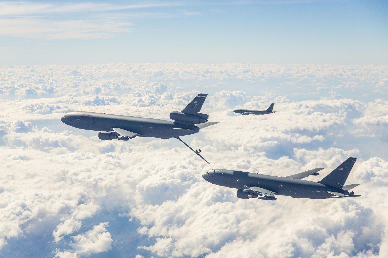 Les Etats-Unis entament la production en série du ravitailleur KC-46A Pegasus