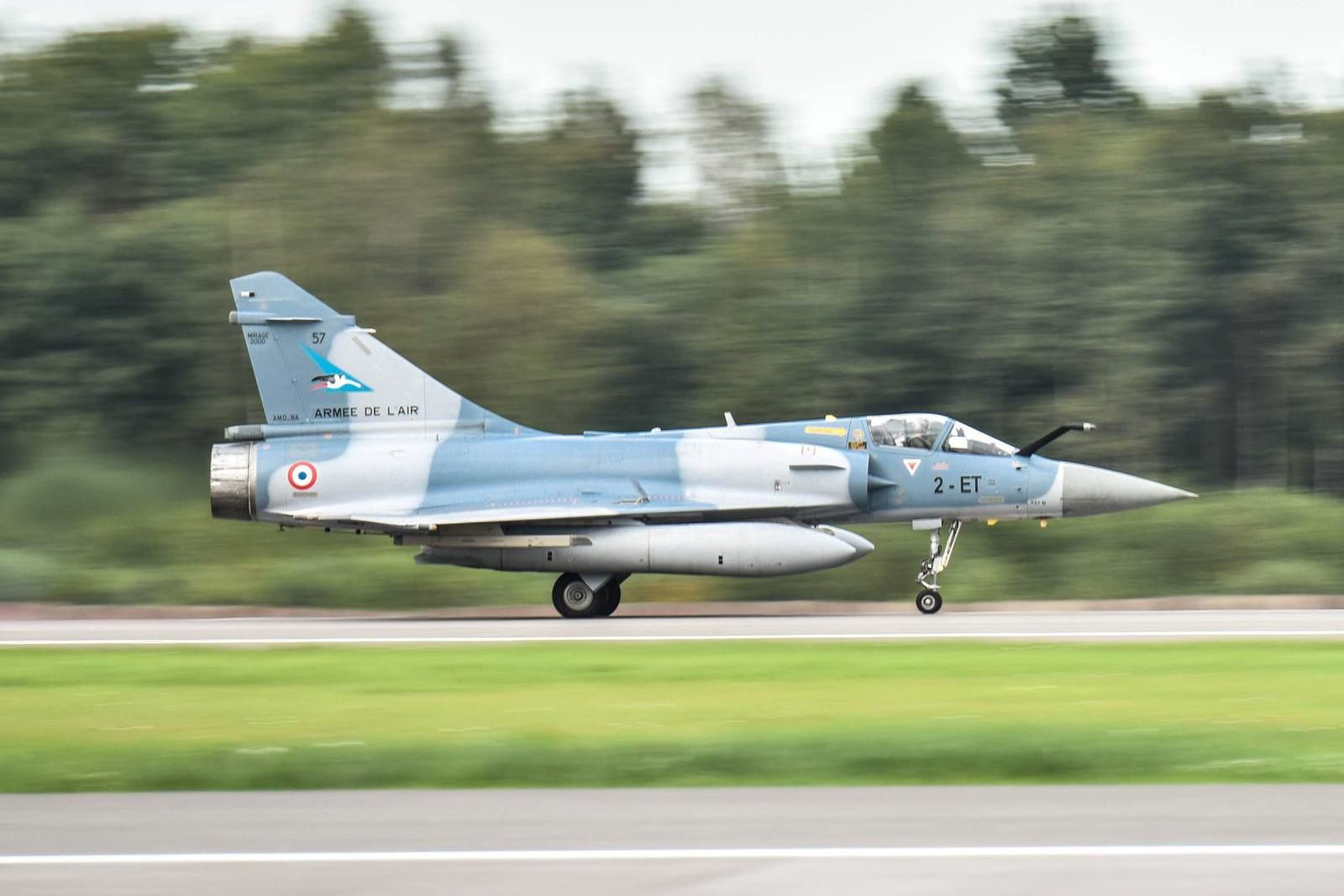 Baltic Air Policing : L'Armée de l'Air déploie quatre Mirage 2000-5F en Lituanie