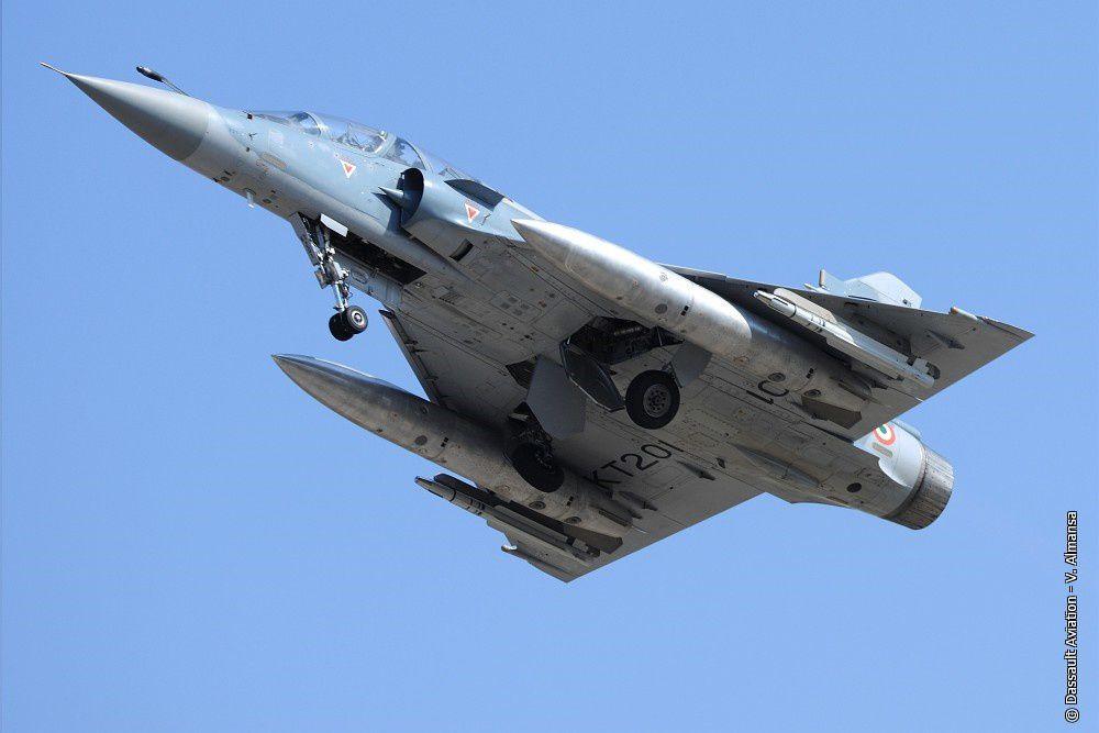 Un Mirage 2000 modernisé de la Force aérienne Indienne tire son premier missile MICA EM