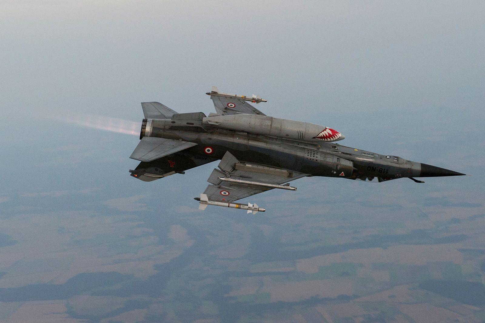 © Armée de l'Air - Au-dessus des Pays Baltes, lors d'un détachement pendant l'opération Baltic Air Policing.