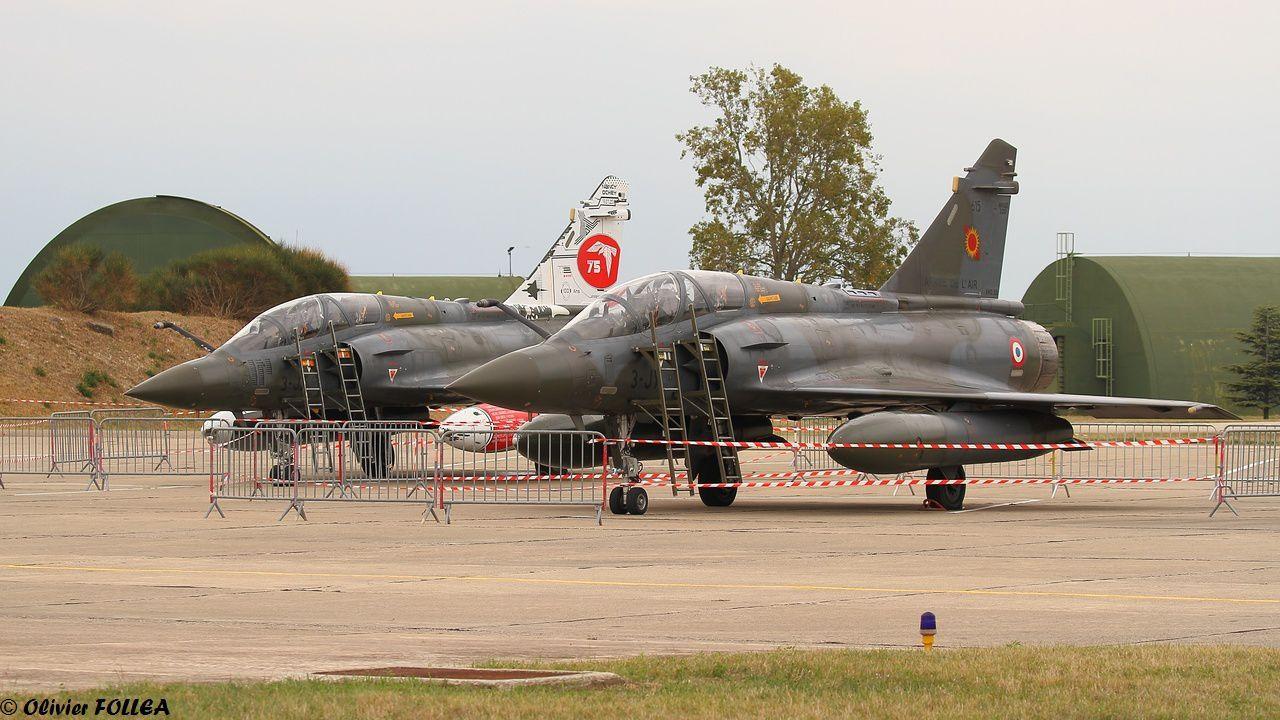 Les Mirage 2000D sont des appareils que l'EC 2/5 connaît bien puisqu'il les côtoie à Niamey.