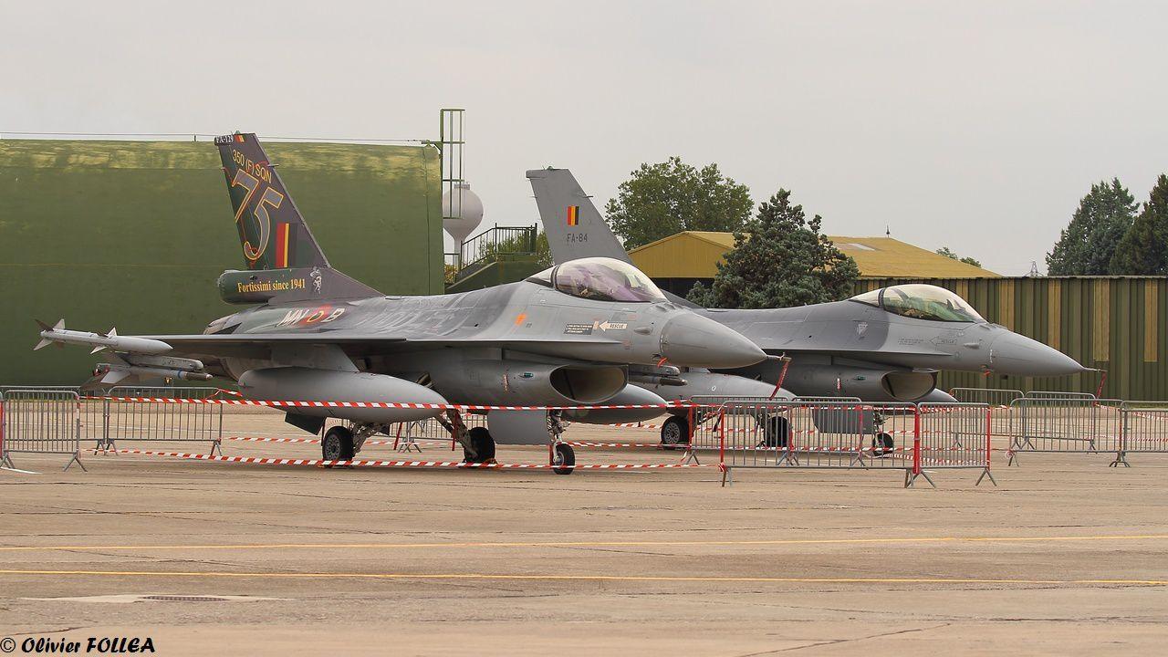 Les F-16 belges étaient aussi de la partie…