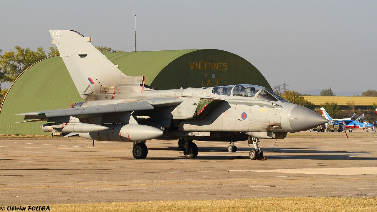 Tornado GR.4 de la Royal Air Force.
