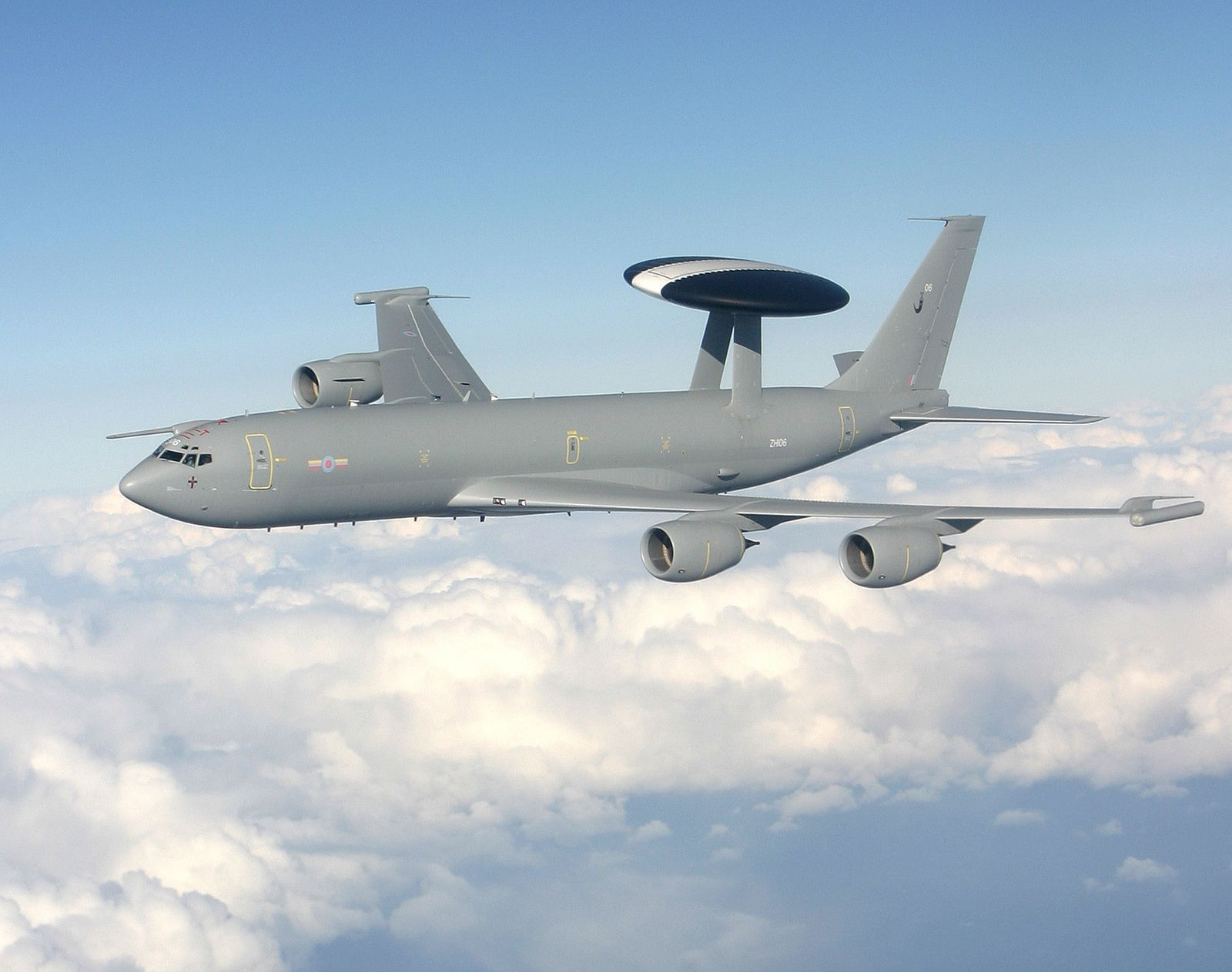 © Royal Air Force - E-3D Sentry AWACS de la RAF lors d'une mission.