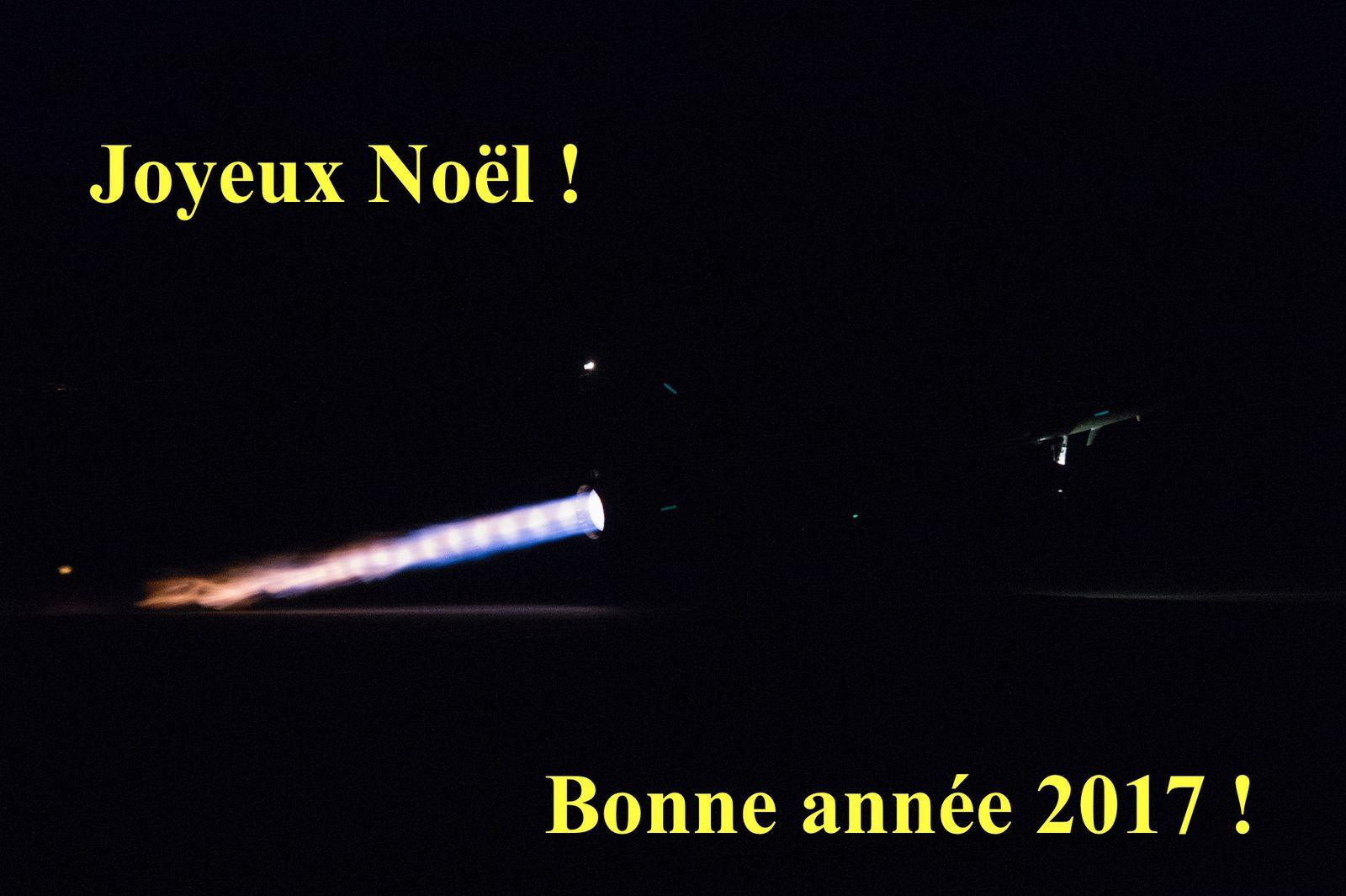 © Armée de l'Air - Un 2000D décolle dans la nuit de Nancy-Ochey.