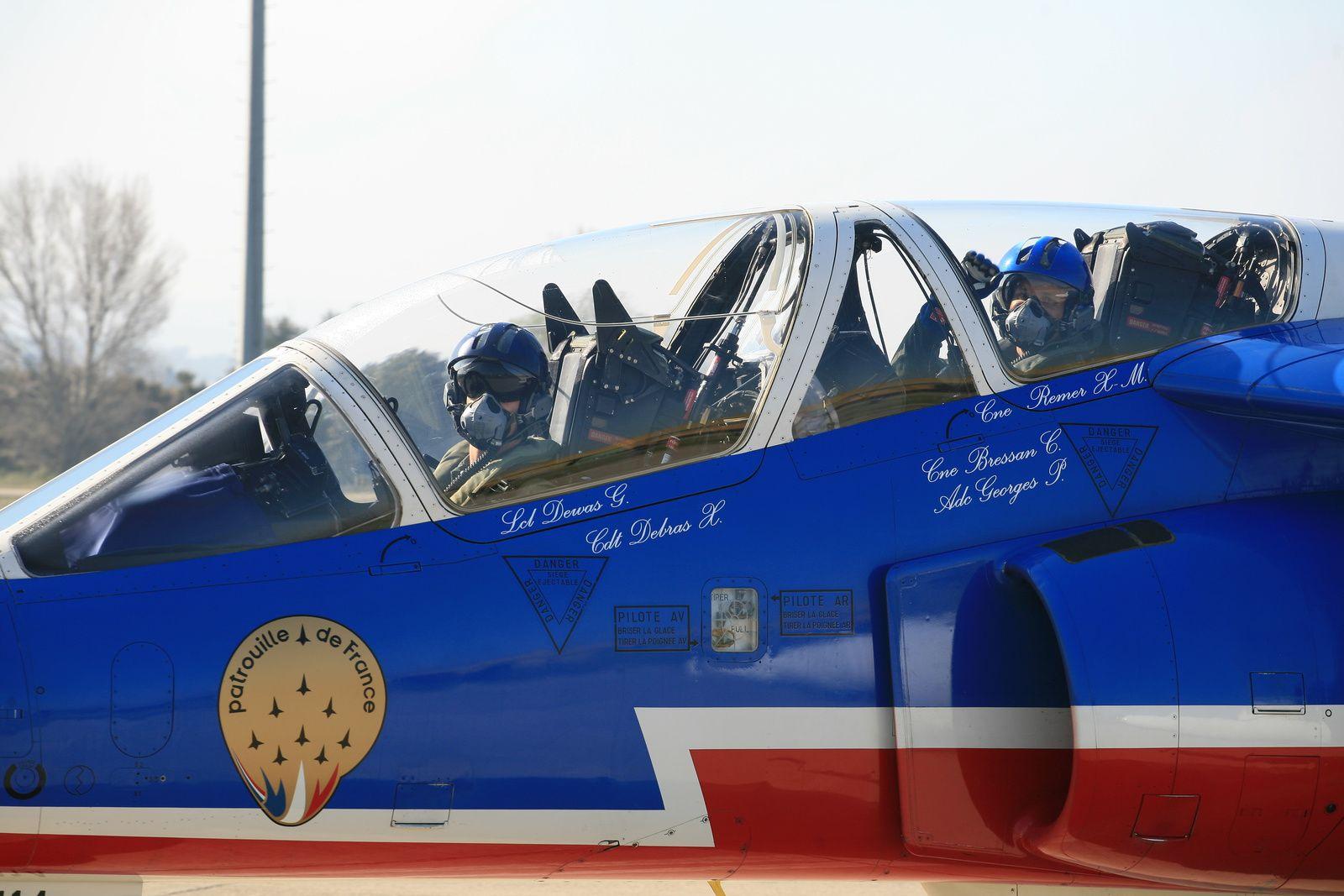 PAF US Tour : Retour sur le départ de la Patrouille de France depuis Salon de Provence