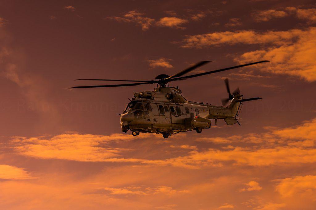 © Rami Khanna-Prade - Un H225M de la Force Aérienne Royale Malaysienne lors du salon LIMA 17.
