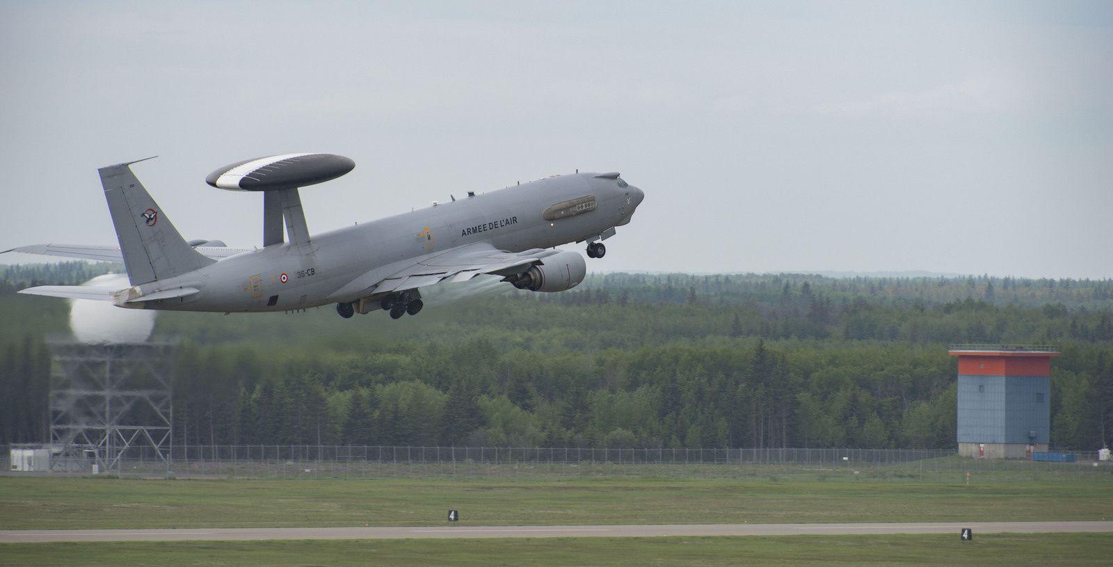 © ARC - La France a aussi engagé un E-3F SDCA d'Avord, fraîchement modernisé.