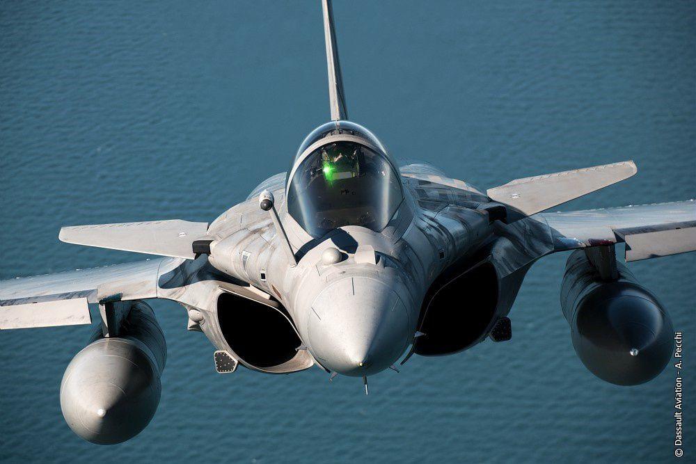© Dassault Aviation - A. Pecchi - Le Rafale (ici Marine) de Dassault Aviation est bien placé pour remporter cet appel d'offres.