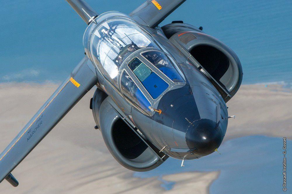 © Dassault Aviation / G. Gosset - Un Alpha Jet E de Dassault Aviation lors d'un vol.