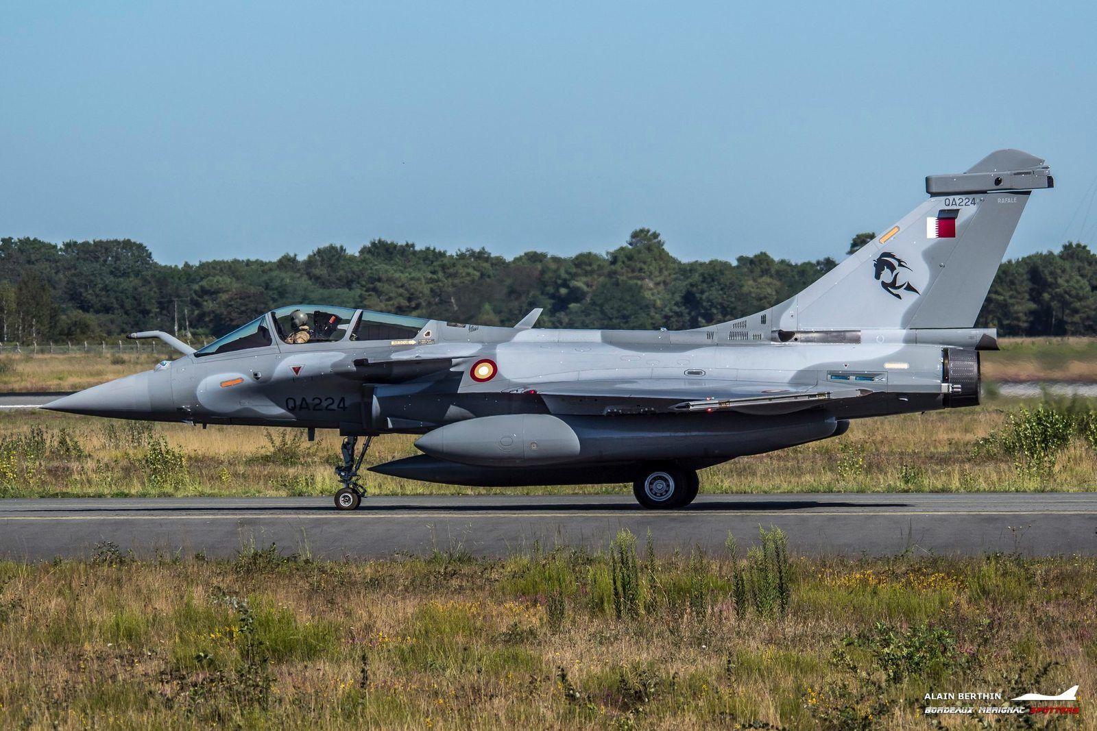La Force aérienne qatarie réceptionne son troisième lot de Rafale EQ/DQ