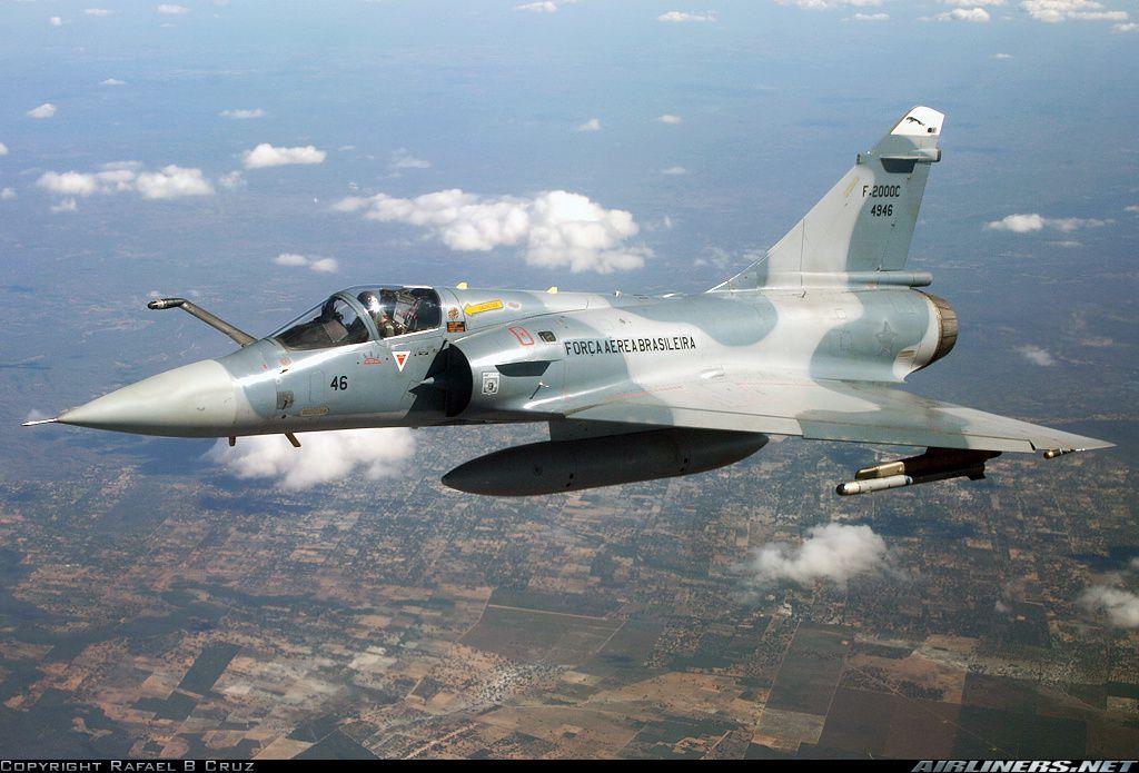 Cérémonie d'adieu des Mirage F-2000C brésiliens