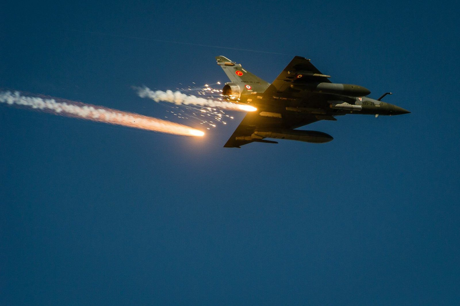 Mirage 2000D : Au revoir Bamako, bonjour N'Djamena