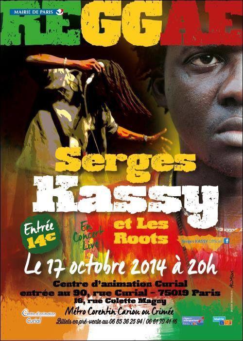 SERGES KASSY EN CONCERT LE VENDREDI 17 OCTOBRE 2010 AU CENTRE CURIAL, PARIS 19EME!