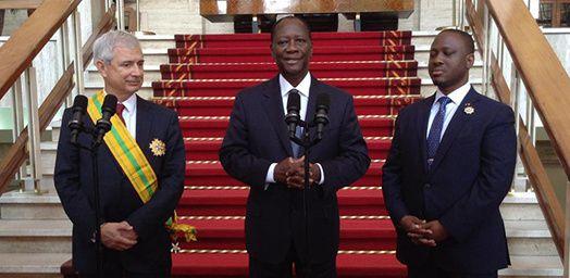 Les concepteurs de la nouvelle constitution Ouattara.