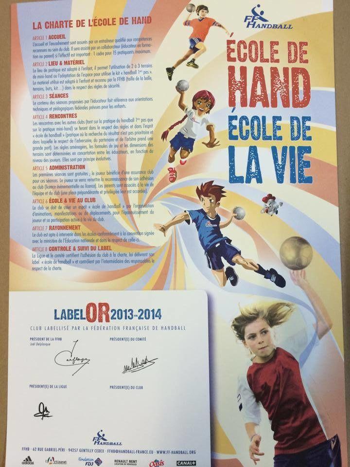 Ecoles de Handball