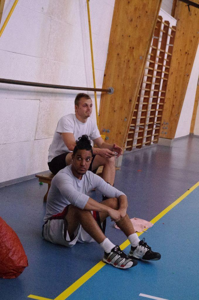 Jonas et Wilfried les Blessés trépignent d'impatience ....