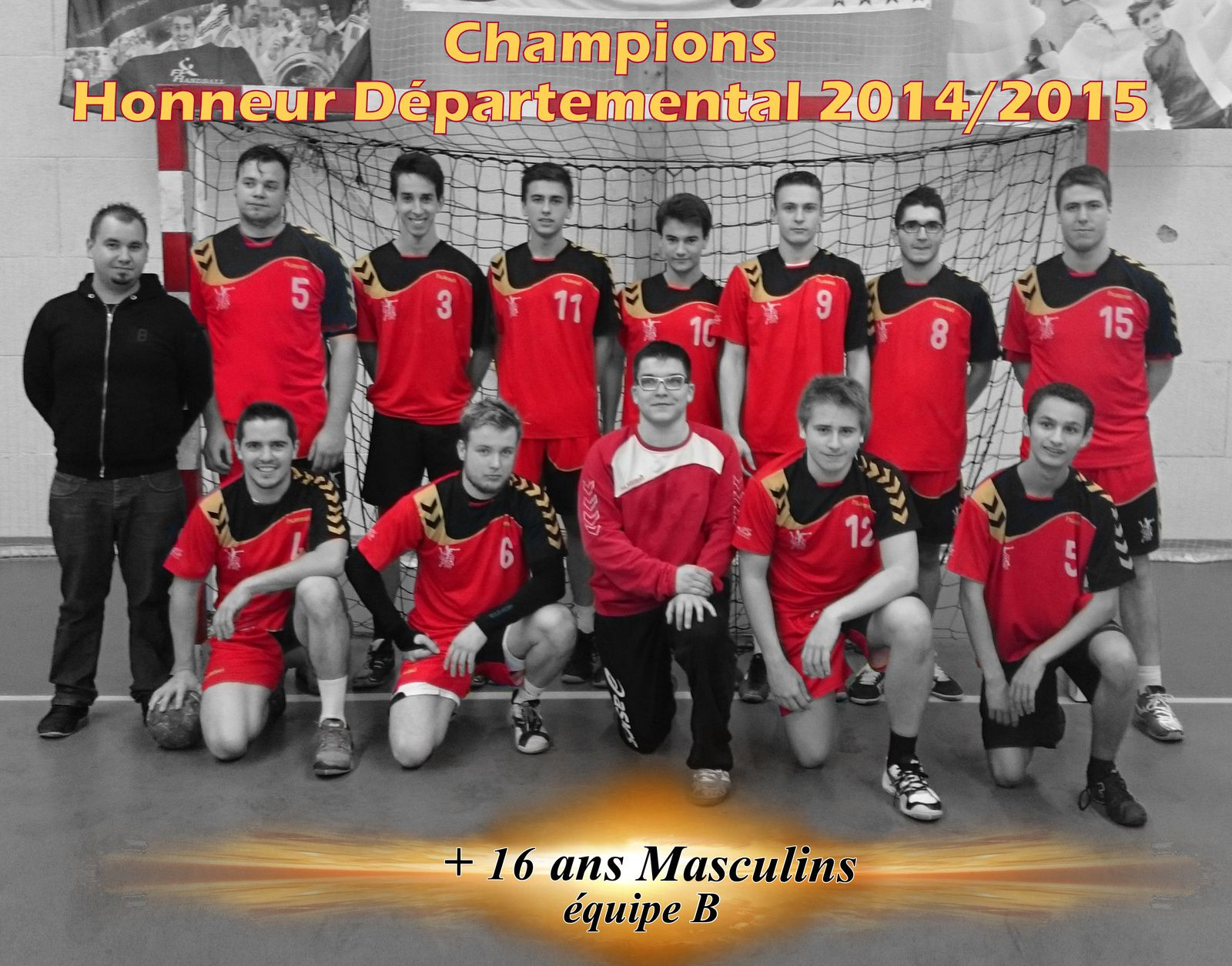 Nos Champions +16 ans Masculins B