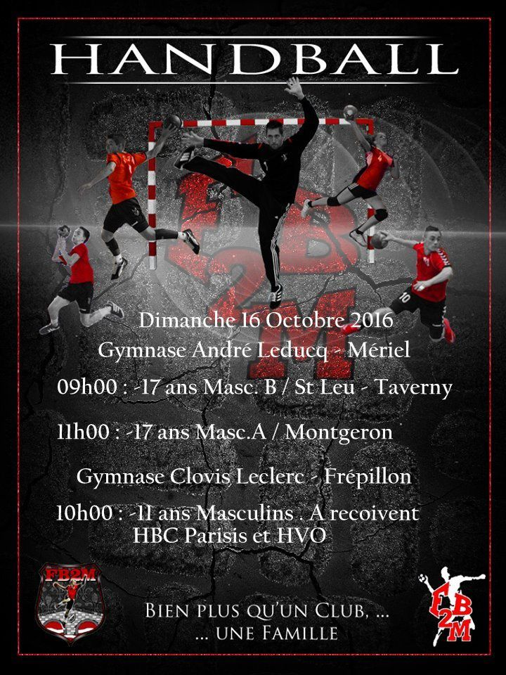 Week-end du 15 / 16 Octobre 2016