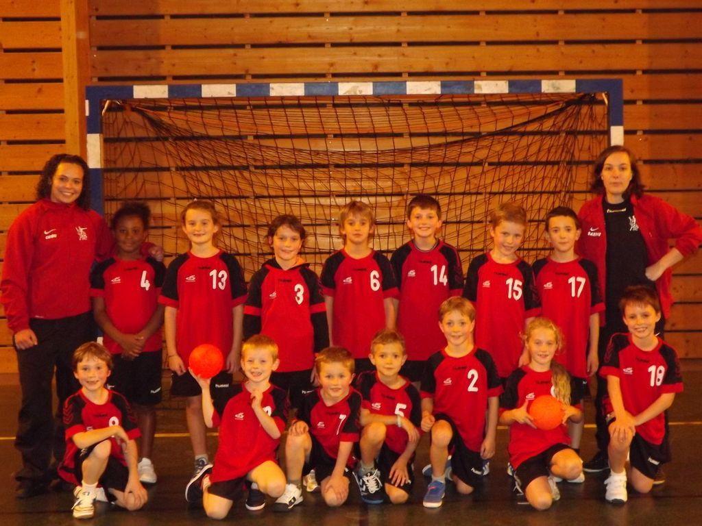-9 Ans et Ecole de Handball de Bessancourt avec Charlotte et Barbara