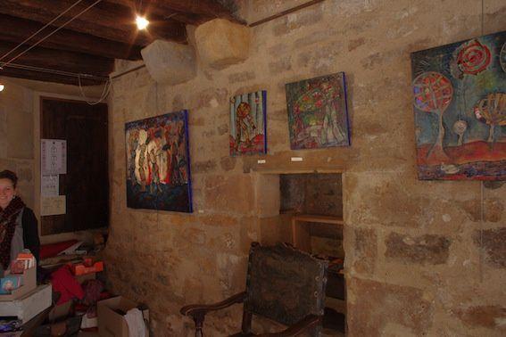 Exposition Marie BAZIN à la Maison des Consuls, Saint-Céré (46)