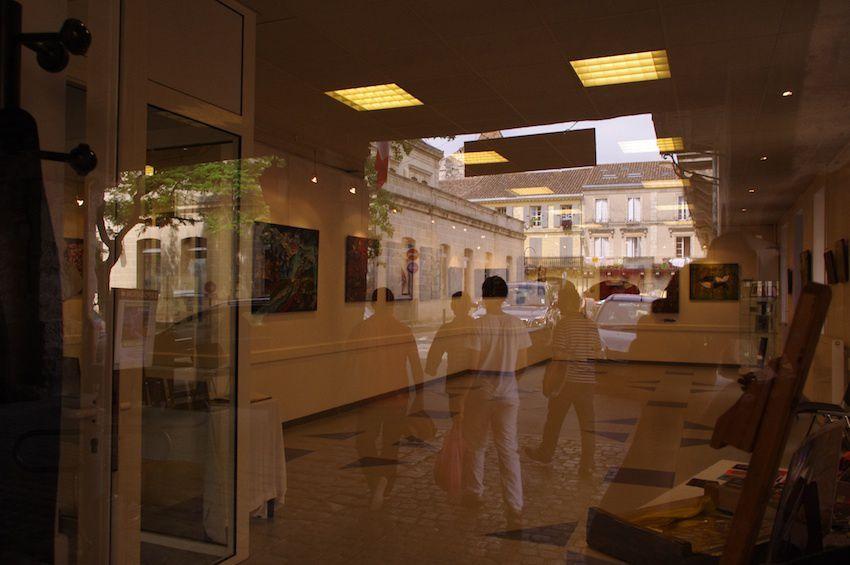 Exposition marie bazin sainte foy la grande 33 le for Chez merie le miroir sainte foy