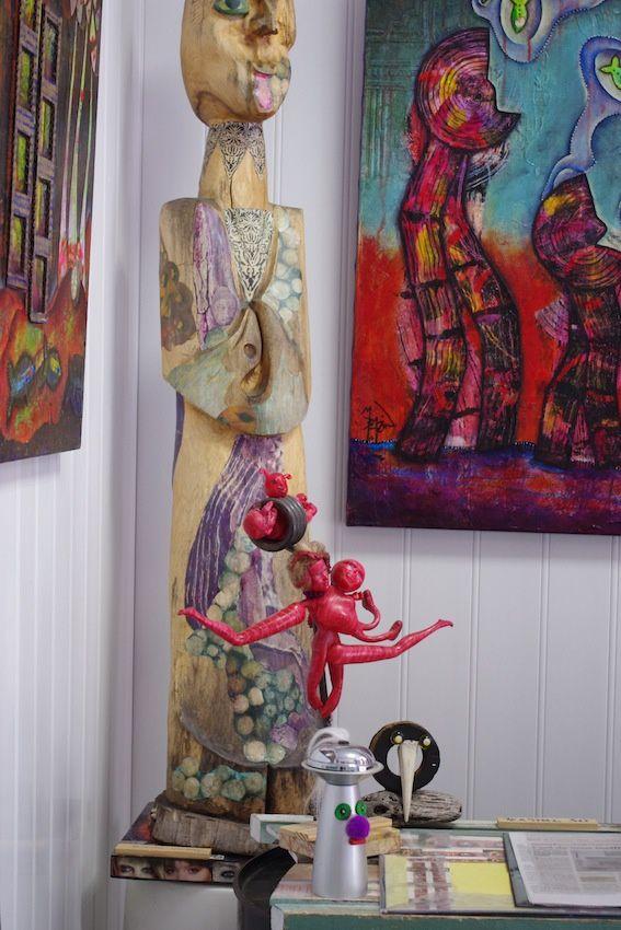 Galerie Moutt'Art...Un lieu qui vaut le détour, un accueil tout sourire, et de l'humour à revendre ...