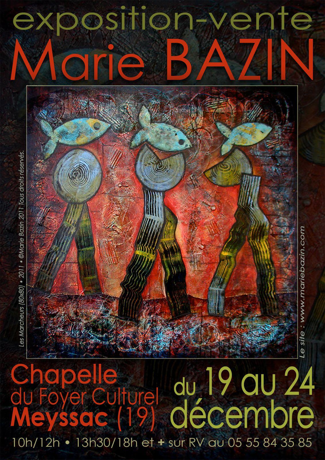 Affiches des expositions Marie Bazin