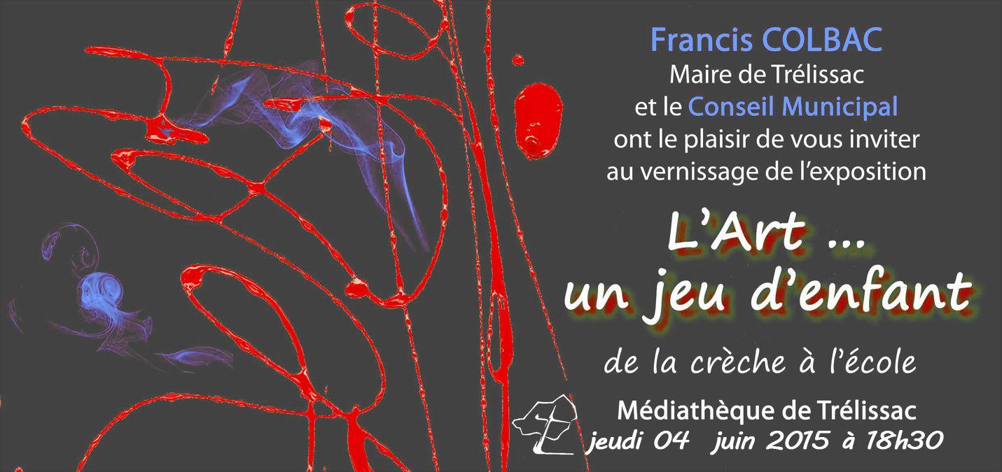 ATELIER à l'école maternelle Jean Eyraud à Trélissac (24)